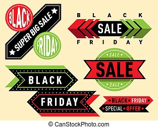 Sale vector badge stickers lables percent discount shopping...