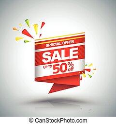 Sale vector banner