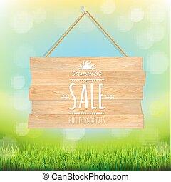 Sale Wooden Board