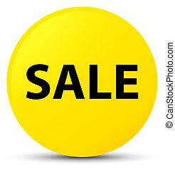 Sale yellow round button