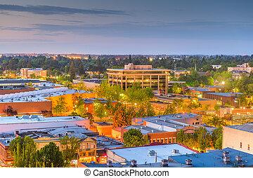 Salem, Oregon, USA downtown