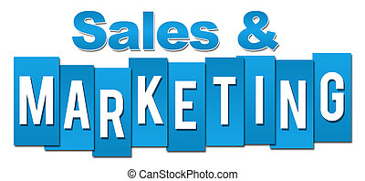 Sales And Marketing Professional Blue Stripes