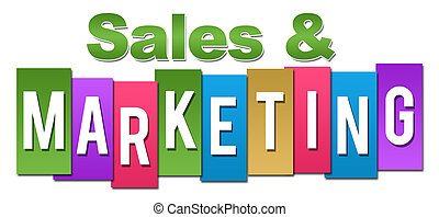 Sales And Marketing Professional Colorful