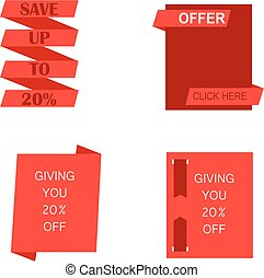Sales and offer banner
