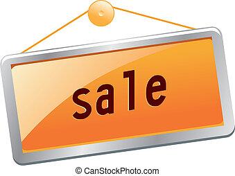 Sales bulletin board