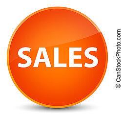 Sales elegant orange round button