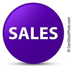 Sales purple round button