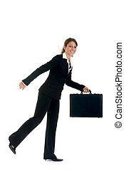 Sales representative, traveler - Attractive successful young...