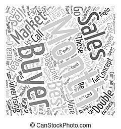 Sales Strategies for Entrepreneurs The 1 Way To Skyrocket Your Sales This Year text background wordcloud concept