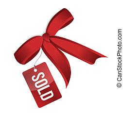 Sales tag illustration design isolated