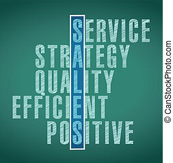sales words concept illustration design