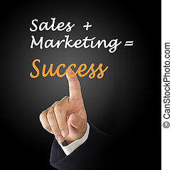 sales+marketing=success