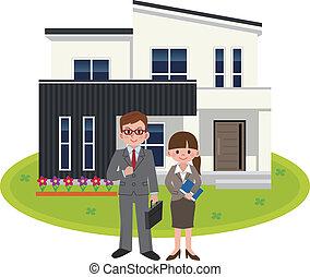 Salesperson of housing