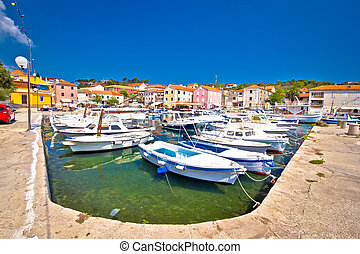 Sali harbor on Dugi Otok island, Dalmatia, Croatia