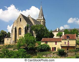 Salignac, Church