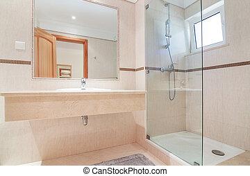 maison contemporain luxe toilette int rieur toilette contemporain luxe maison. Black Bedroom Furniture Sets. Home Design Ideas