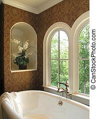salle bains, luxe, 1, -, 5