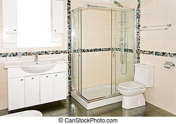 salle bains, nouveau