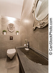 salle bains, vue