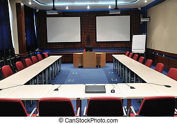salle conférence, intérieur