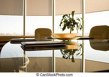 salle conférence, vue