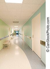 salle, dans, hôpital
