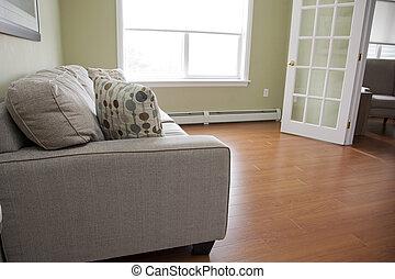 salle de séjour, divan
