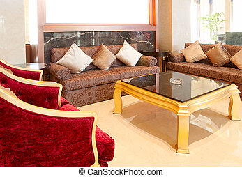 salle de séjour, sofa