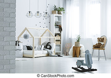 salle, jouets