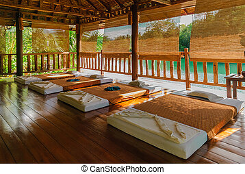 salle, masage, thaïlande