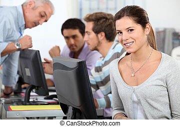 salle ordinateurs