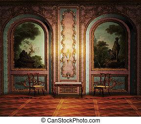 salle, palais