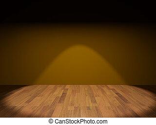 salle, plancher