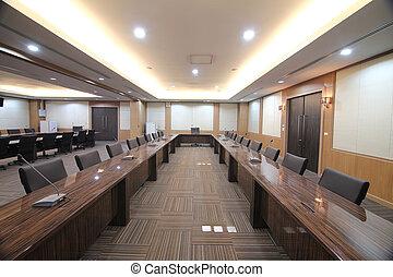 salle réunion, business