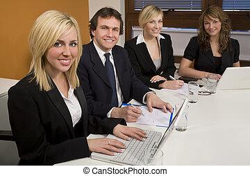 salle réunion, collaboration