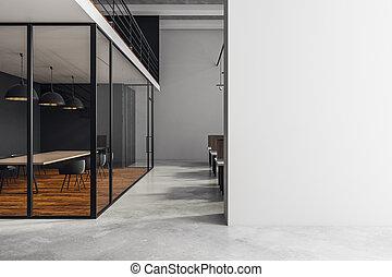 salle réunion, moderne, copyspace