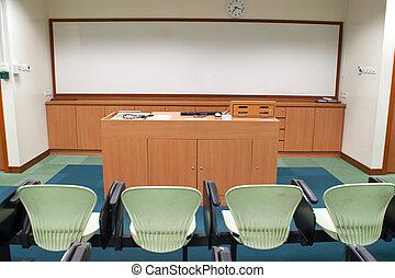 salle, séminaire