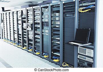 salle serveur, réseau