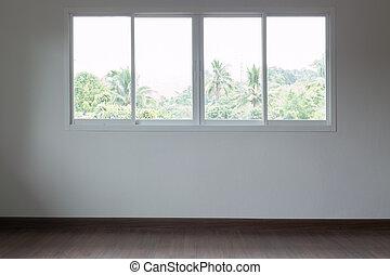 salle vide, conception intérieur