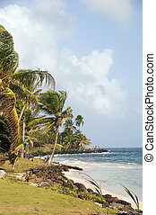 Sally Peaches beach Sally Peachie Big Corn Island Nicaragua...