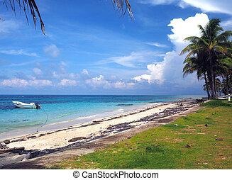 Sally Peachie Beach Big Corn Island Nicaragua Central...