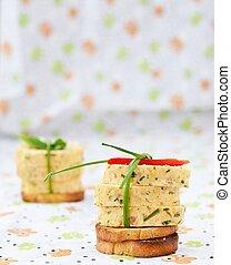 salmon appetizer