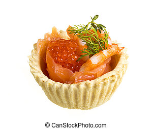 salmon appetizer