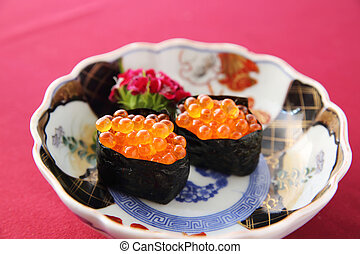 salmon egg Ikura