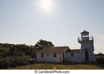 Salmon River Lighthouse - Nova Scotia, Canada