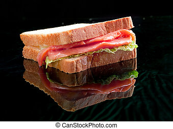 salmon sandwiches.