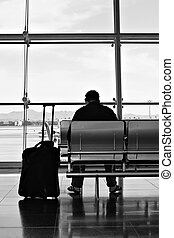 salon, aéroport