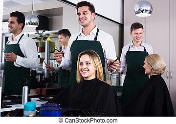 salon cheveux, coupures, coiffeur