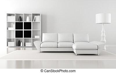 salon, minimalist