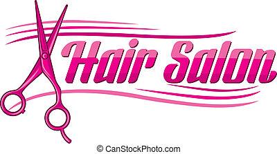 salone capelli, disegno
